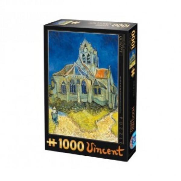 Kościół w Auvers, Van Gogh - Sklep Art Puzzle