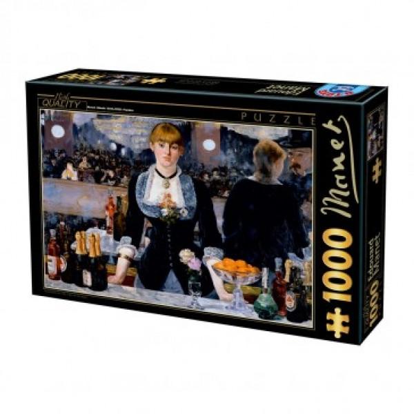 Bar w Folies- Bergere, Manet - Sklep Art Puzzle