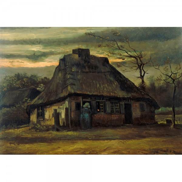 Chata, Van Gogh - Sklep Art Puzzle