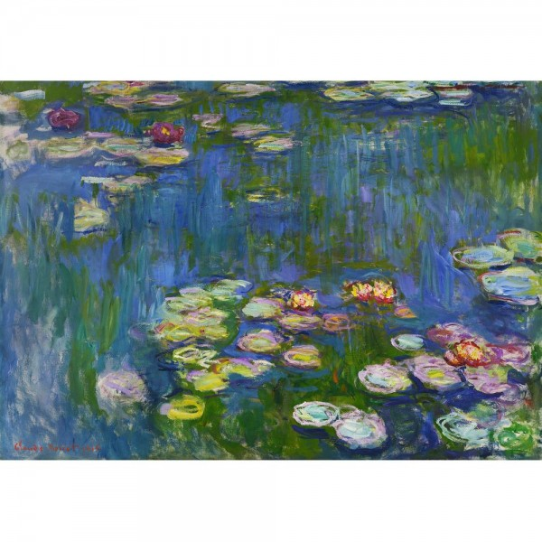 Lilie wodne, Monet - Sklep Art Puzzle