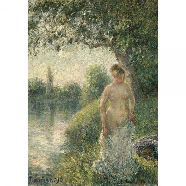 Kąpiel, Pissarro - Sklep Art Puzzle