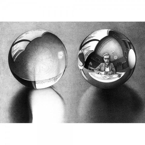 M.C.Escher-17 - Sklep Art Puzzle