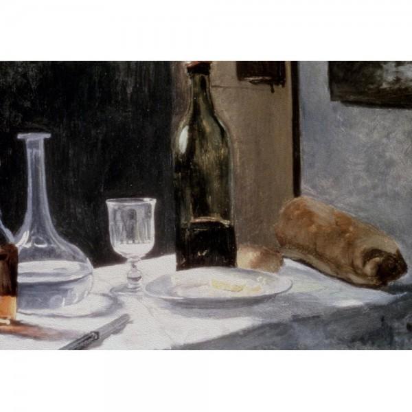 Martwa natura z butelką, Monet - Sklep Art Puzzle