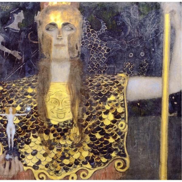 Atena, Klimt (1500el.) - Sklep Art Puzzle