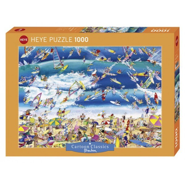 Szaleństwo na surfingu - Sklep Art Puzzle