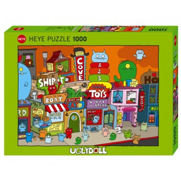 Bardzo brzydkie miasteczko - Sklep Art Puzzle
