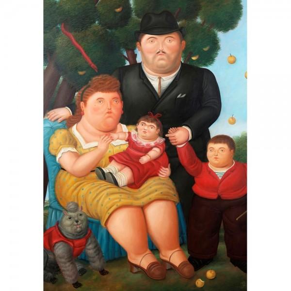 Rodzina, Botero - Sklep Art Puzzle