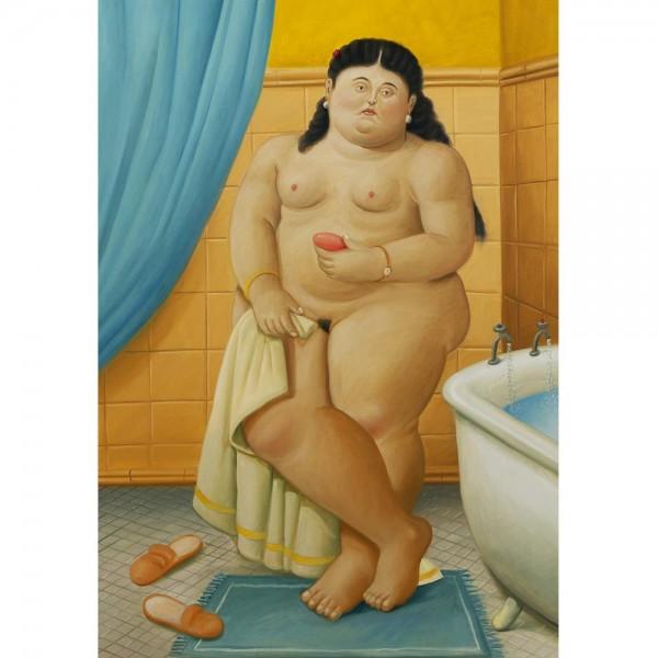 W łazience, Botero - Sklep Art Puzzle