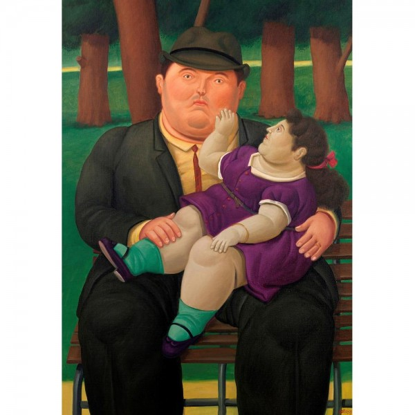 W parku, Botero - Sklep Art Puzzle