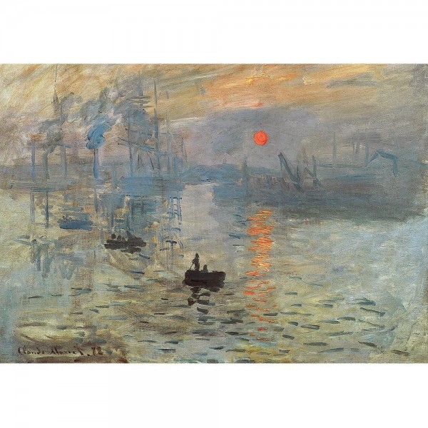 Impresja wschód słońca, Monet - Sklep Art Puzzle
