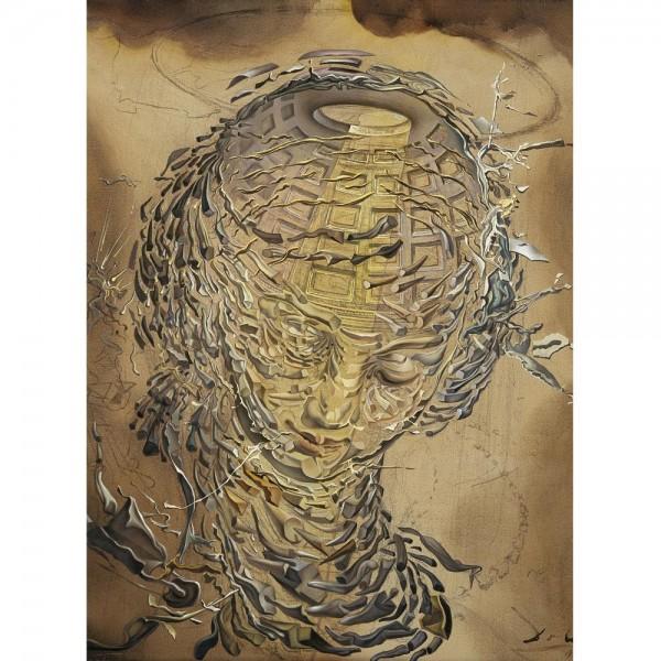 Głowa kobiety, Dali (2000el.) - Sklep Art Puzzle