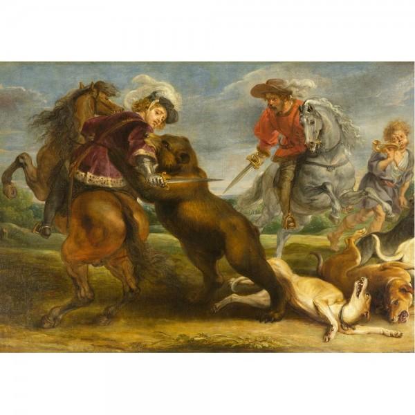 Niedźwiedź, Rubens - Sklep Art Puzzle