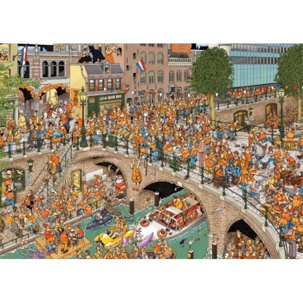 Świętujemy urodziny króla - Sklep Art Puzzle