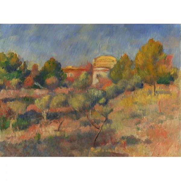 Jesienny krajobraz, Renoir (2000el.) - Sklep Art Puzzle