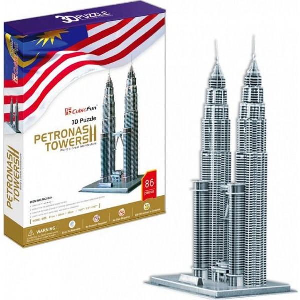 Wieża Petronas (3d) - Sklep Art Puzzle