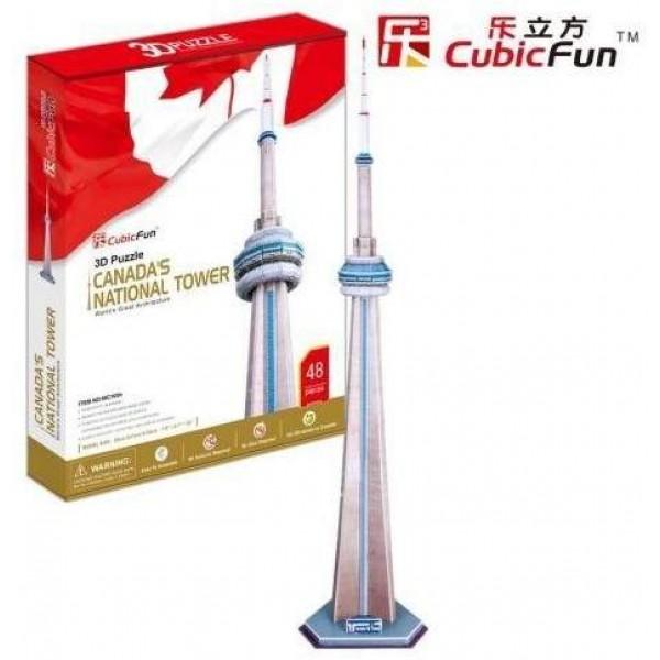 Kanada, Wieża telewizyjna ( 3d) - Sklep Art Puzzle