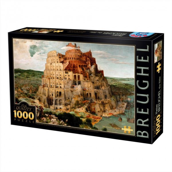 Wieża Babel, Breughel - Sklep Art Puzzle
