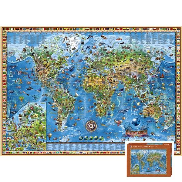 Wspaniały świat ( Puzzle + plakat ) - Sklep Art Puzzle