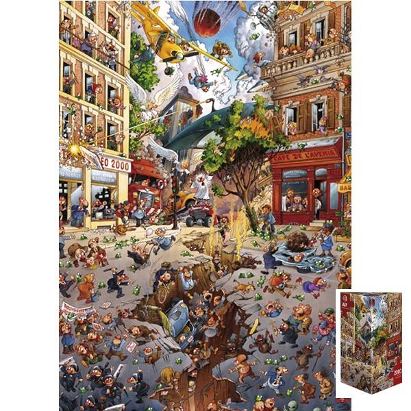 Apokalipsa (Puzzle+plakat) - Sklep Art Puzzle