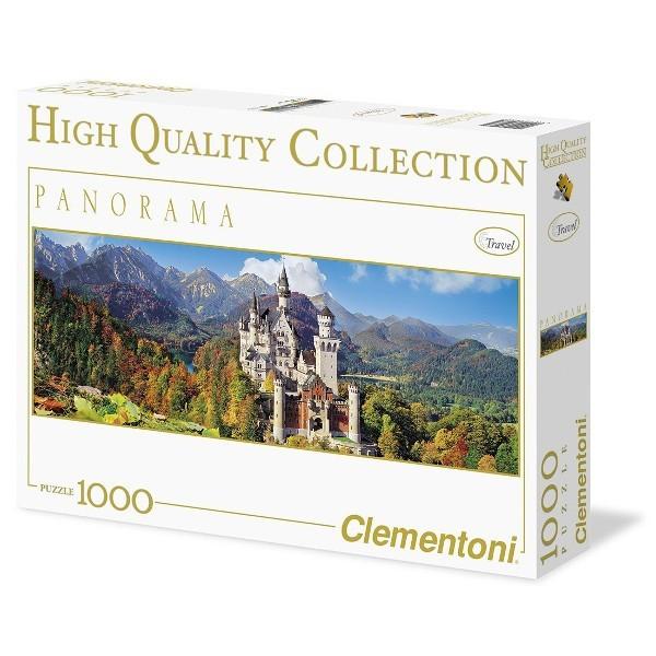 Niemcy, Zamek Neuschwanstein ( panorama) - Sklep Art Puzzle