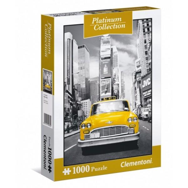 Nowojorska taksówka- Wersja Platinum - Sklep Art Puzzle