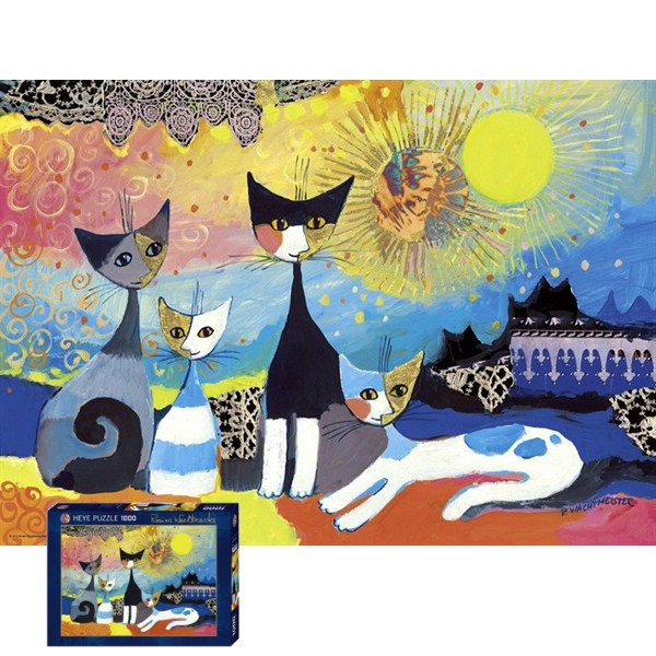 Kotki i koronki - Sklep Art Puzzle