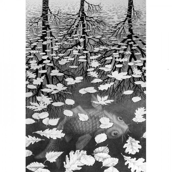 M.C.Escher-10 - Sklep Art Puzzle