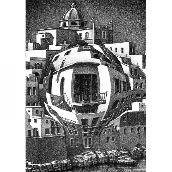 M.C.Escher-7 - Sklep Art Puzzle