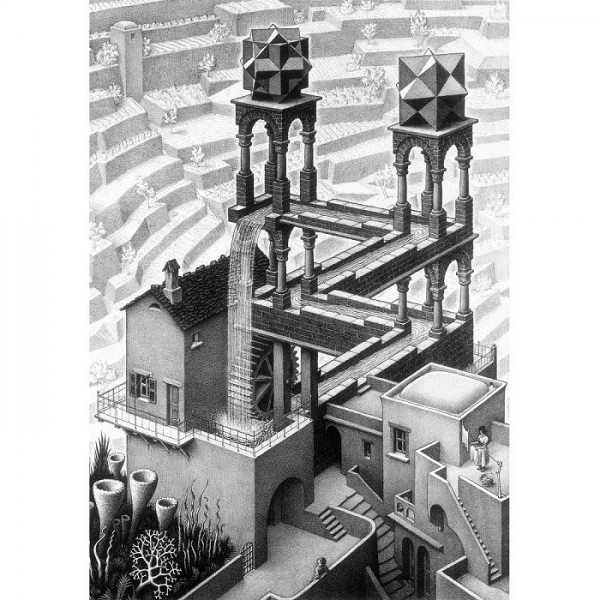 M.C.Escher-6 - Sklep Art Puzzle