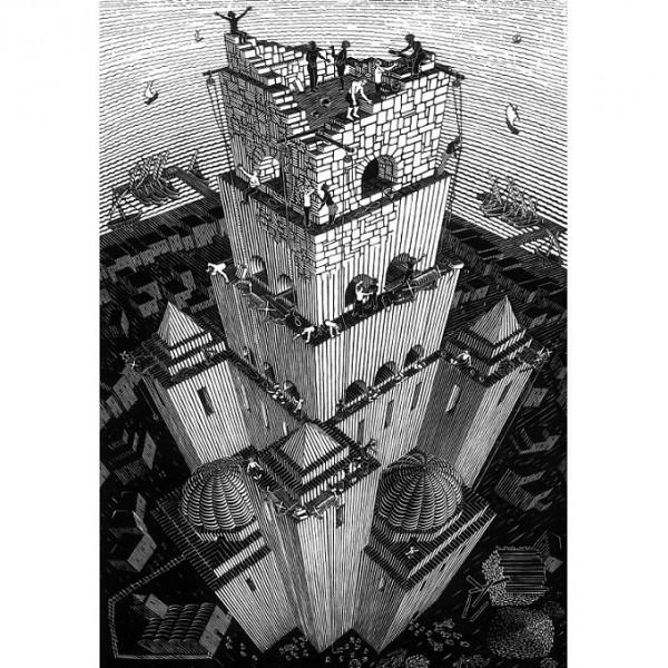M.C.Escher-3 - Sklep Art Puzzle