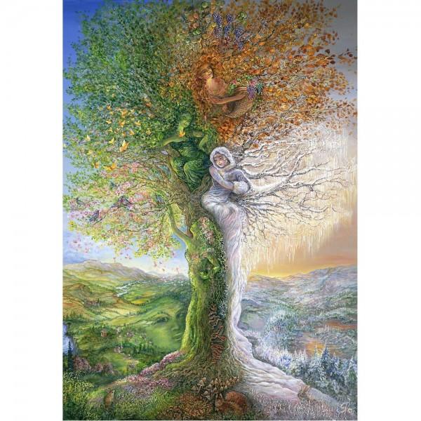 Drzewo-cztery pory roku - Sklep Art Puzzle