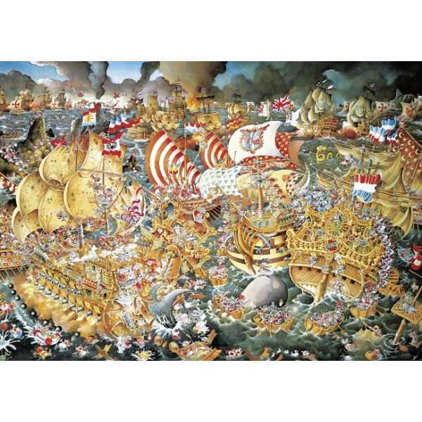 Trafalgar ( Puzzle+plakat ) - Sklep Art Puzzle