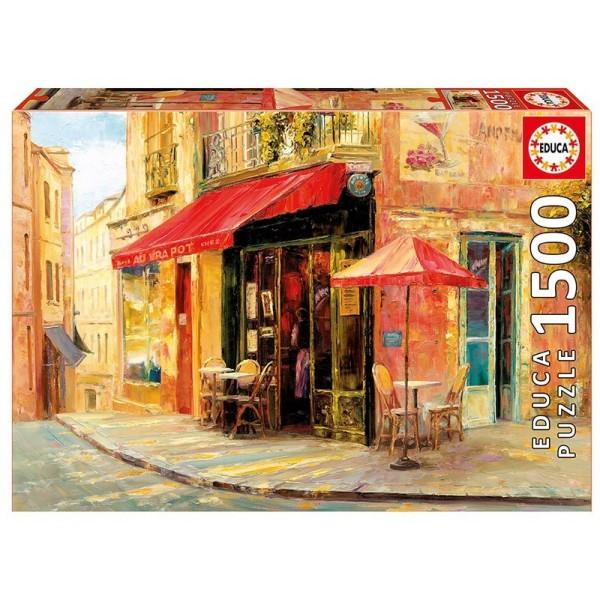 Kawiarnia na rogu, Shaviko (Puzzle+klej) - Sklep Art Puzzle
