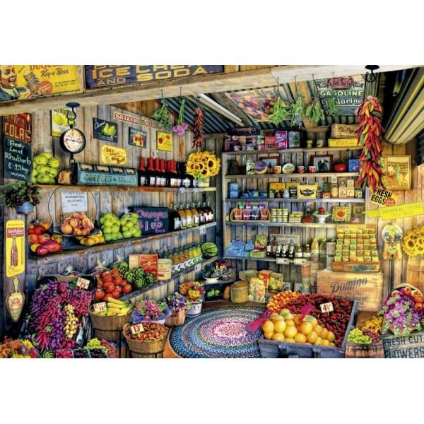 W sklepie spożywczym ( Puzzle+klej) - Sklep Art Puzzle