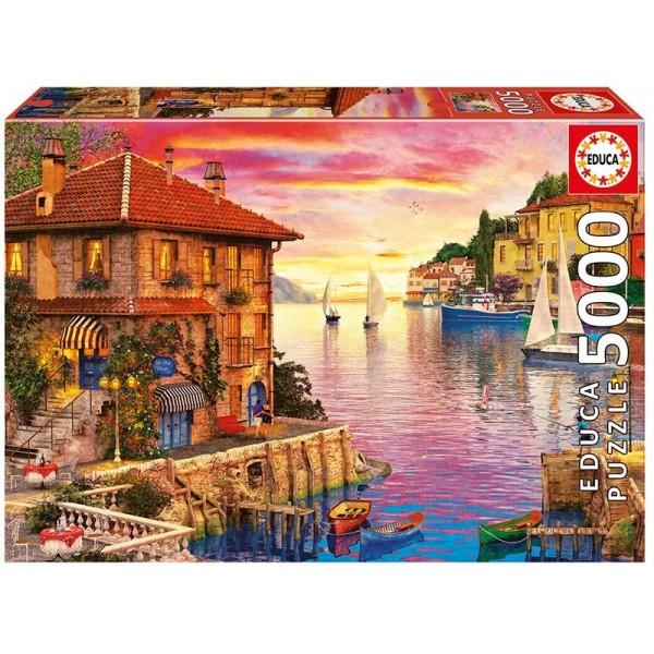 Port Morza Środziemnego - Sklep Art Puzzle
