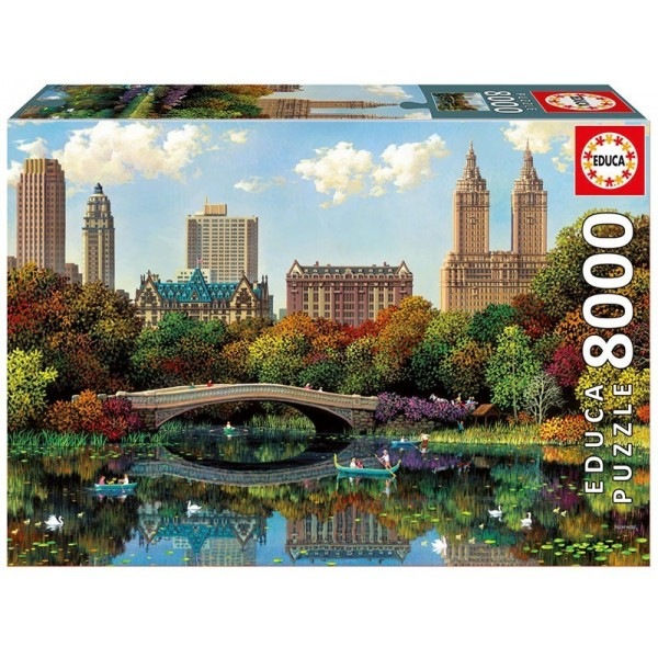 Nowy York, Most w Central Parku - Sklep Art Puzzle
