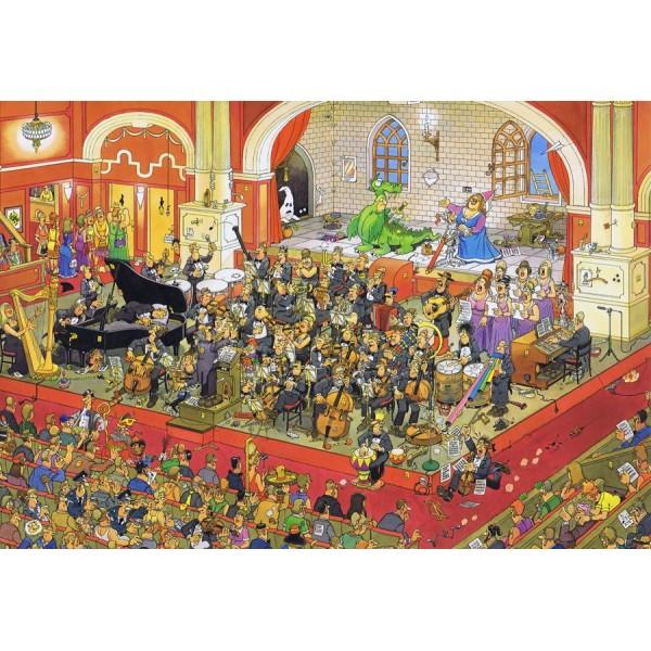 Na deskach opery -Św.Jerzy walczący ze smokiem - Sklep Art Puzzle