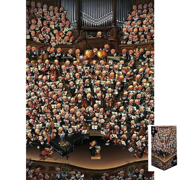 Szalona orkiestra (Puzzle+plakat) - Sklep Art Puzzle