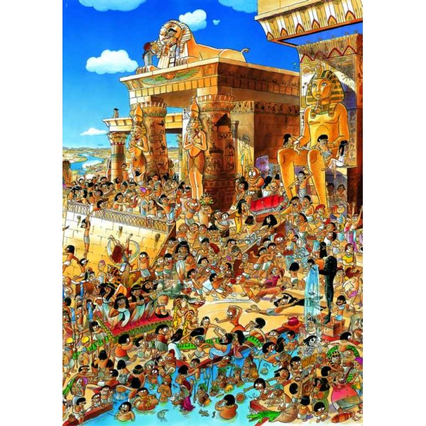 Starożytny Egipt ( Puzzle+plakat ) - Sklep Art Puzzle