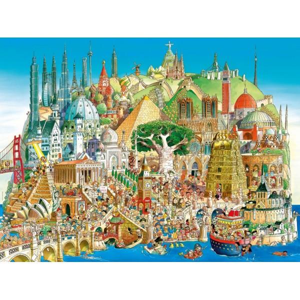 Globalne miasto (Puzzle+plakat)