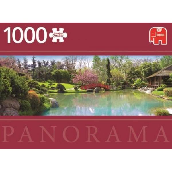 Kolorowy ogród ( panorama) - Sklep Art Puzzle