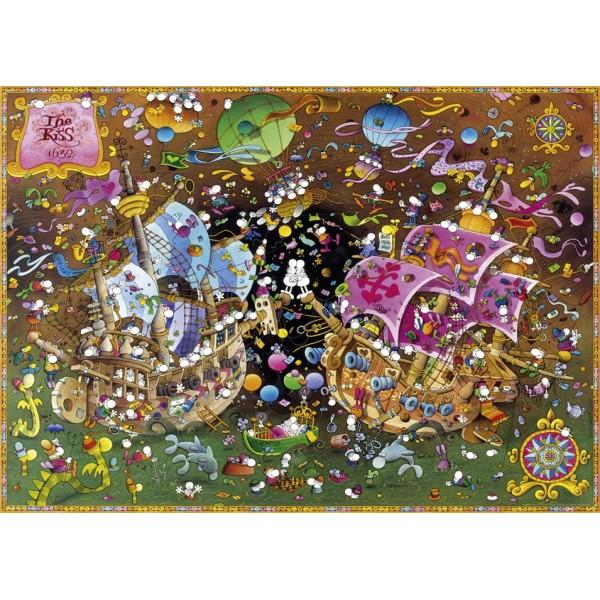 Pocałunek ( Puzzle+plakat) - Sklep Art Puzzle