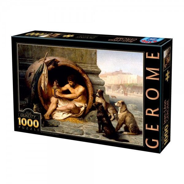 Diogines, Gerome  (1000el.) - Sklep Art Puzzle