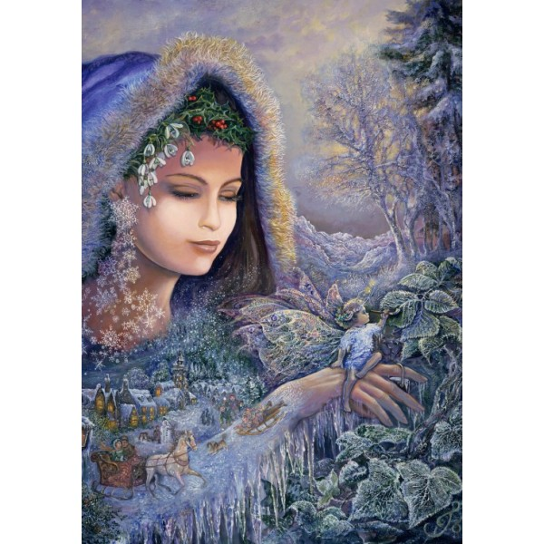 Duch zimy, Josephine Wall (1000el.) - Sklep Art Puzzle