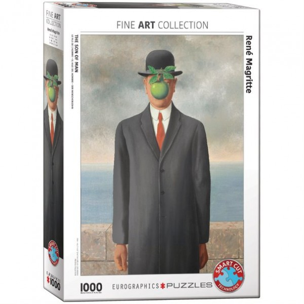 Syn człowieczy, Rene Magritte, 1000el. - Sklep Art Puzzle