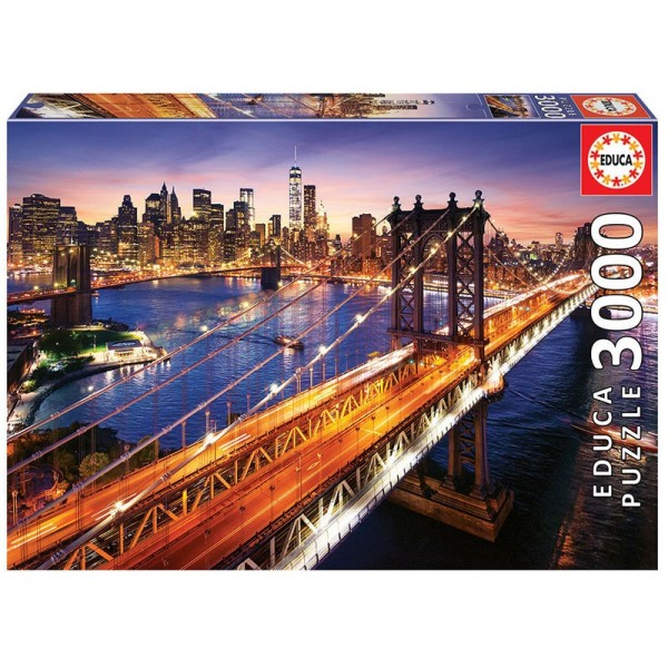 Manhattan, 3000el. - Sklep Art Puzzle