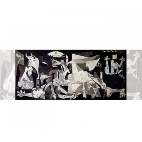 Guernica, Picasso, 1000el.(Panorama) - Sklep Art Puzzle