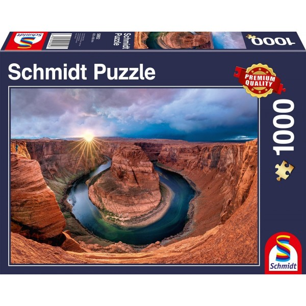 Kanion Glen, Rzeka Kolorado, USA (1000el.) - Sklep Art Puzzle