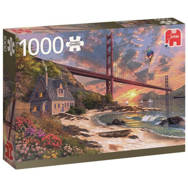 Most Golden Gate - Sklep Art Puzzle