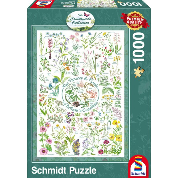 Countryside Collection- Kwiaty i rośliny - Sklep Art Puzzle